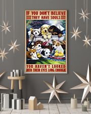 dog souls eyes poster 24x36 Poster lifestyle-holiday-poster-1
