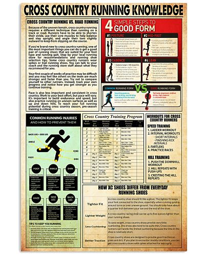 Cross country running knowledge
