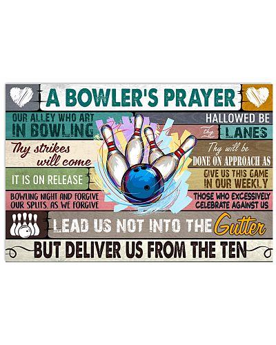 bowling prayer poster