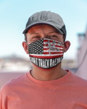 dirtbike racing us flag mas Cloth Face Mask - 3 Pack aos-face-mask-lifestyle-06