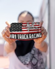 dirtbike racing us flag mas Cloth Face Mask - 3 Pack aos-face-mask-lifestyle-07