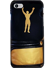 rock statue boxing gloves pc phq pml Phone Case i-phone-8-case