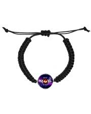 Mom-black-hold Cord Circle Bracelet thumbnail