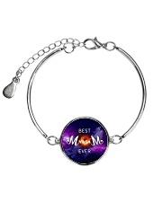 Mom-black-hold Metallic Circle Bracelet thumbnail