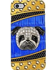 Pug blue phonecase Phone Case i-phone-8-case