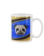 Pug blue phonecase Mug thumbnail