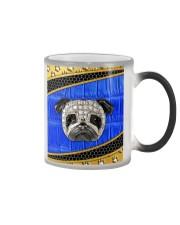 Pug blue phonecase Color Changing Mug thumbnail