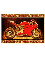 ducat for some therapy poster 24x16 Poster front