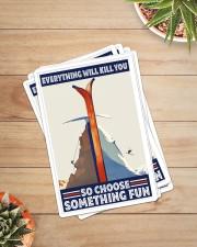 climbing skiing choose something fun sticker Sticker - 6 pack (Vertical) aos-sticker-6-pack-vertical-lifestyle-front-07