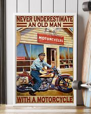 old man motorcycle india poster  11x17 Poster lifestyle-poster-4