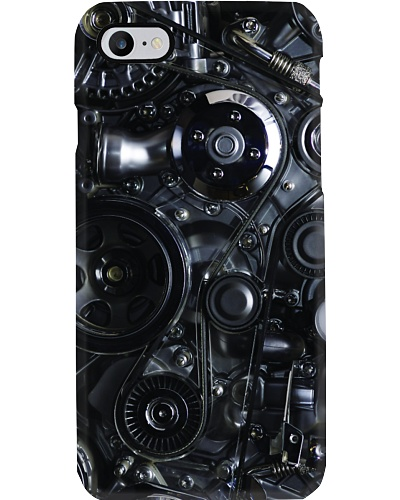 Mechanice engineer car engine Phone case