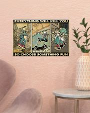 skateboard choose st fun pt phq ngt  17x11 Poster poster-landscape-17x11-lifestyle-22