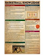 basketball-knowledge 16x24 Poster front