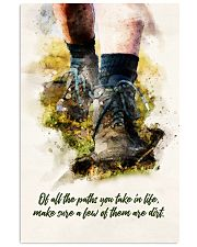 hiking of all the paths poster 11x17 Poster front