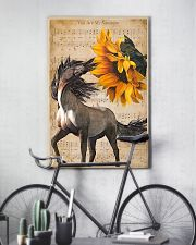 horse sunshine poster 16x24 Poster lifestyle-poster-7