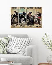 polari be strong pt lqt ngt 24x16 Poster poster-landscape-24x16-lifestyle-01