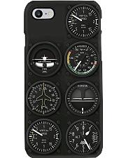 Basic flight instruments pc mttn ngt Phone Case i-phone-8-case