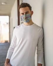 scuba diver plates mas Cloth Face Mask - 3 Pack aos-face-mask-lifestyle-10