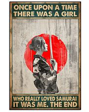 Once upon a time girl love samurai pt phq-ntv 16x24 Poster front