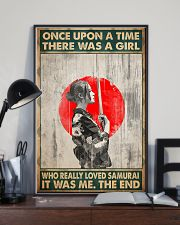 Once upon a time girl love samurai pt phq-ntv 16x24 Poster lifestyle-poster-2