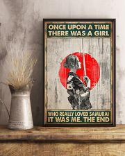 Once upon a time girl love samurai pt phq-ntv 16x24 Poster lifestyle-poster-3