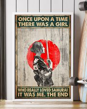 Once upon a time girl love samurai pt phq-ntv 16x24 Poster lifestyle-poster-4