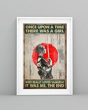 Once upon a time girl love samurai pt phq-ntv 16x24 Poster lifestyle-poster-5