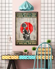 Once upon a time girl love samurai pt phq-ntv 16x24 Poster lifestyle-poster-6