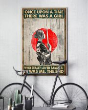 Once upon a time girl love samurai pt phq-ntv 16x24 Poster lifestyle-poster-7