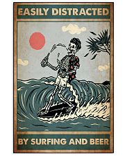 distracted surfing beer pt lqt ntv 11x17 Poster front