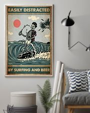 distracted surfing beer pt lqt ntv 11x17 Poster lifestyle-poster-1