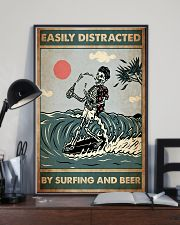 distracted surfing beer pt lqt ntv 11x17 Poster lifestyle-poster-2