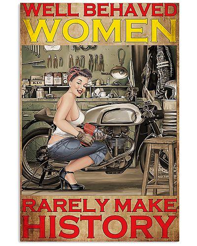 mechanic woman well behaved