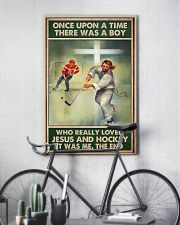 jesus and hockey boy once upon a time poster 11x17 Poster lifestyle-poster-7