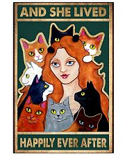 cats And she lived happily ever after 11x17 Poster front