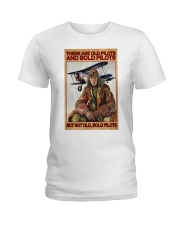 pilot old bold poster ttb nna Ladies T-Shirt tile