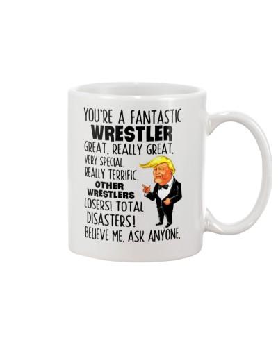 Fantastic wrestler
