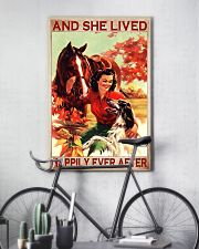 Horse and Dog And she lived pt ttb-pml 16x24 Poster lifestyle-poster-7