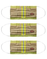 fire fighter mas Cloth Face Mask - 3 Pack front