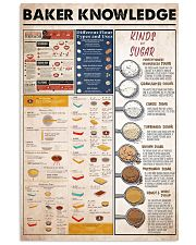 baker knowledge 11x17 Poster front