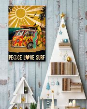 surfing peace love surf 11x17 Poster lifestyle-holiday-poster-2