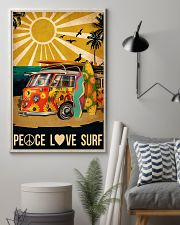 surfing peace love surf 11x17 Poster lifestyle-poster-1