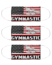 Gymnastic us flag mas Cloth Face Mask - 3 Pack front