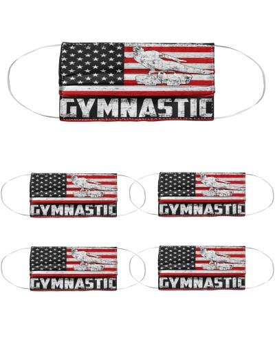 Gymnastic us flag mas