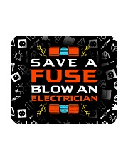 electrician save a fuse mas Mousepad thumbnail