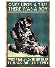 jiu jitsu boy once upon a time poster 11x17 Poster front