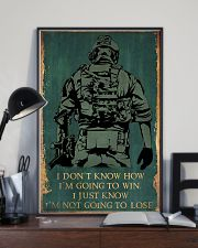 I'M NOT GOING TO LOSE SOLDIER poster 11x17 Poster lifestyle-poster-2