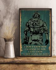 I'M NOT GOING TO LOSE SOLDIER poster 11x17 Poster lifestyle-poster-3