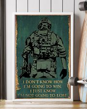I'M NOT GOING TO LOSE SOLDIER poster 11x17 Poster lifestyle-poster-4