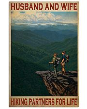 hiking partners for life poster 11x17 Poster front